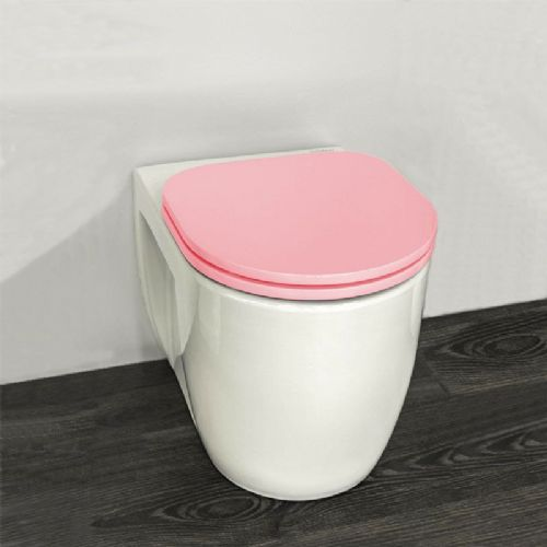 H&L Junior Series Childrens Toilet with Pink Seat